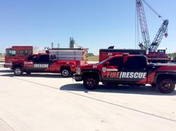Verdigris Fire Trucks
