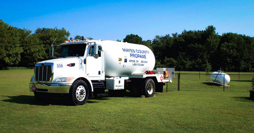 Propane Delivery Service - Mayes County Propane