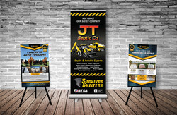 Banner Stand & Posters