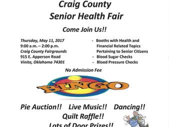 Craig County Senior Health Fair