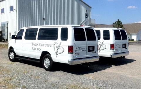 ICC Church Van Graphics