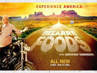 Travel Channel's Bizarre Foods Showcases Calf Fries in Vinita, OK