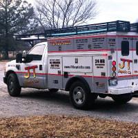 JT Service Truck Graphics