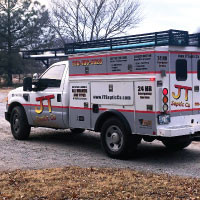 JT Service Truck Graphics