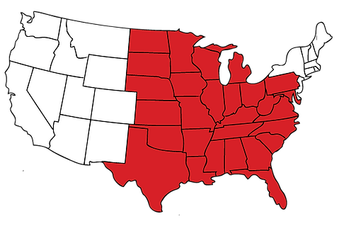 Tornado Shelter States