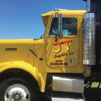 JT Semi Dump Truck Door Graphics
