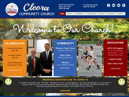 Driving Website Visitors for Newly Launched Church Website!
