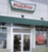 Krispy Kreme Entry Windows