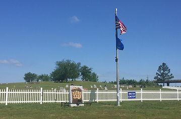 Sweeten Cemetery front fence