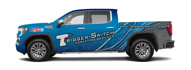 Trigger-Switch Truck Wrap