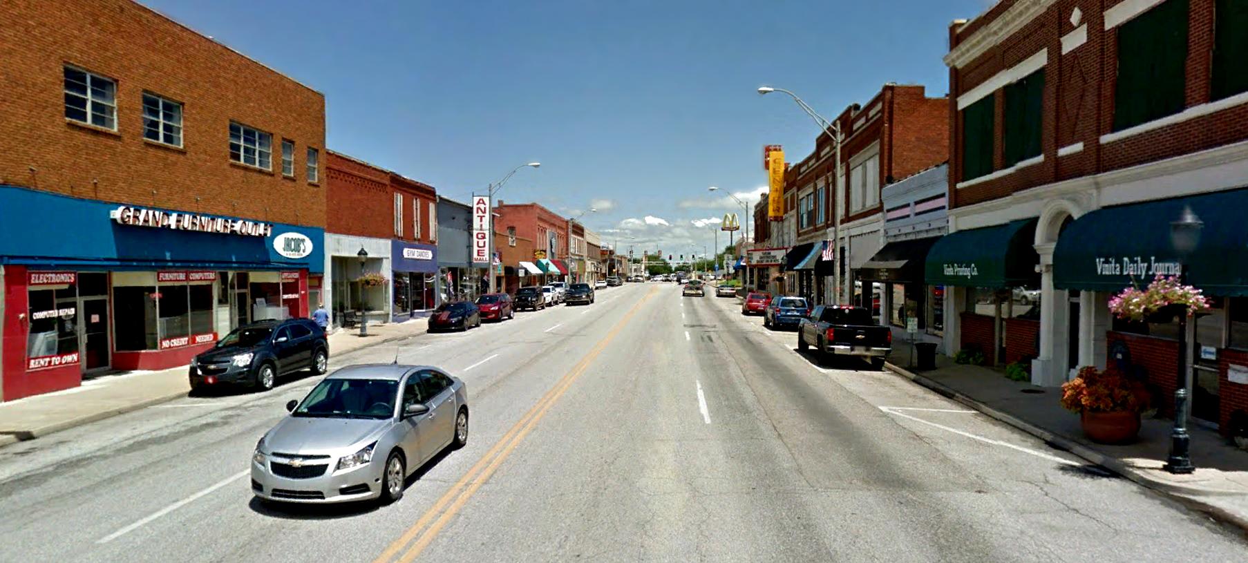 Vinita Main Street