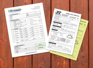 Custom Business Forms