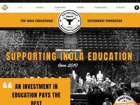 Trigger-Switch partners with Inola Educational Enrichment Foundation to create new website!