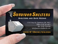 Custom Business Card Front