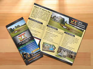 Trifold brochure design and printing Catoosa, Tulsa, Broken Arrow, Claremore, Pryor