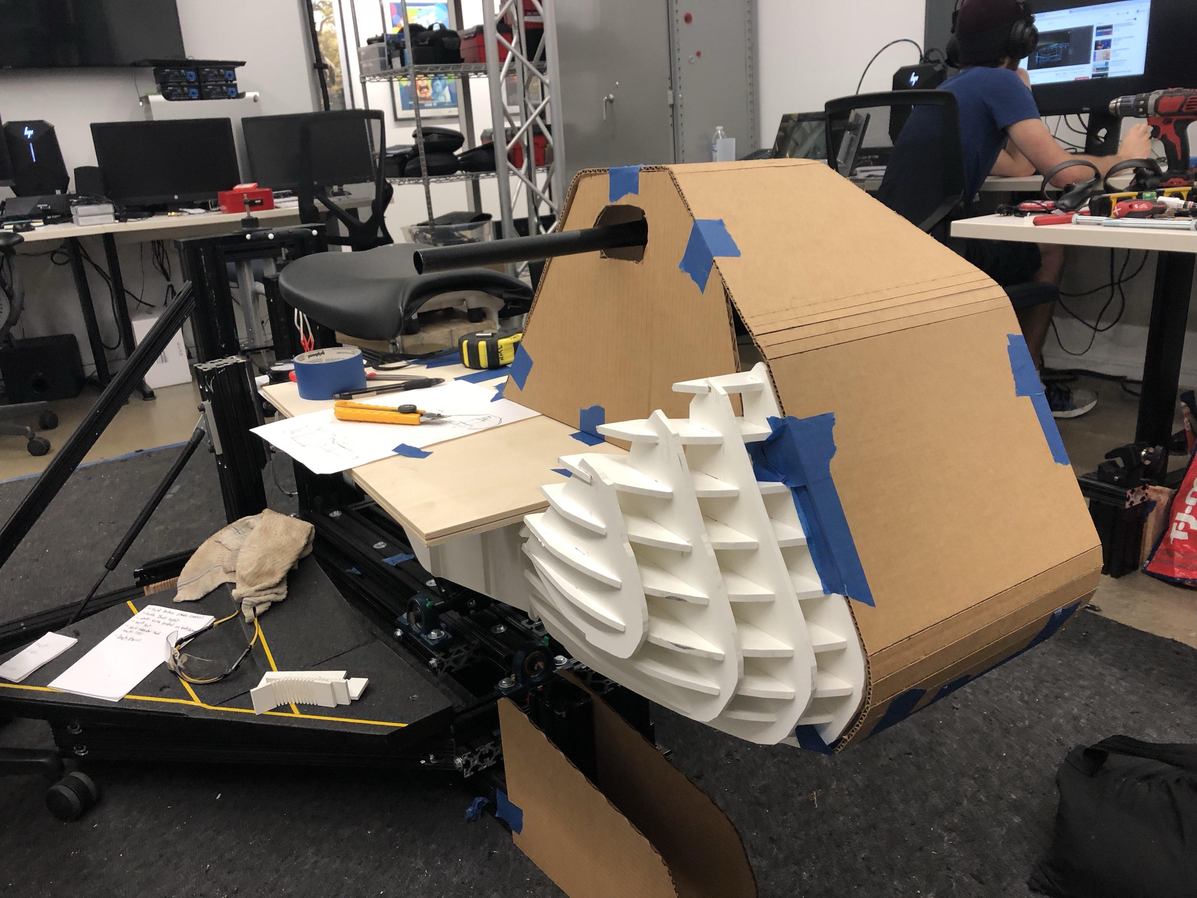 Adding Shell to VR Bike 2.0