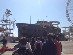 Ghost Ship at Morey's Piers