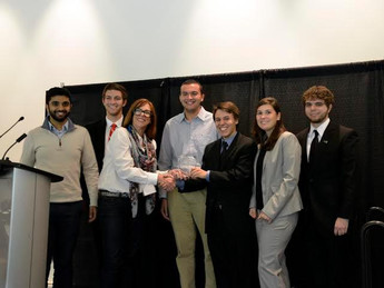 Drexel TPED Team Wins 1st at Ryerson Invitational Competition