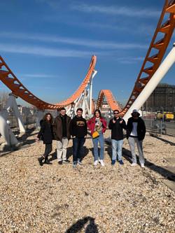 Group Shot at Coney Island's Thunderbolt