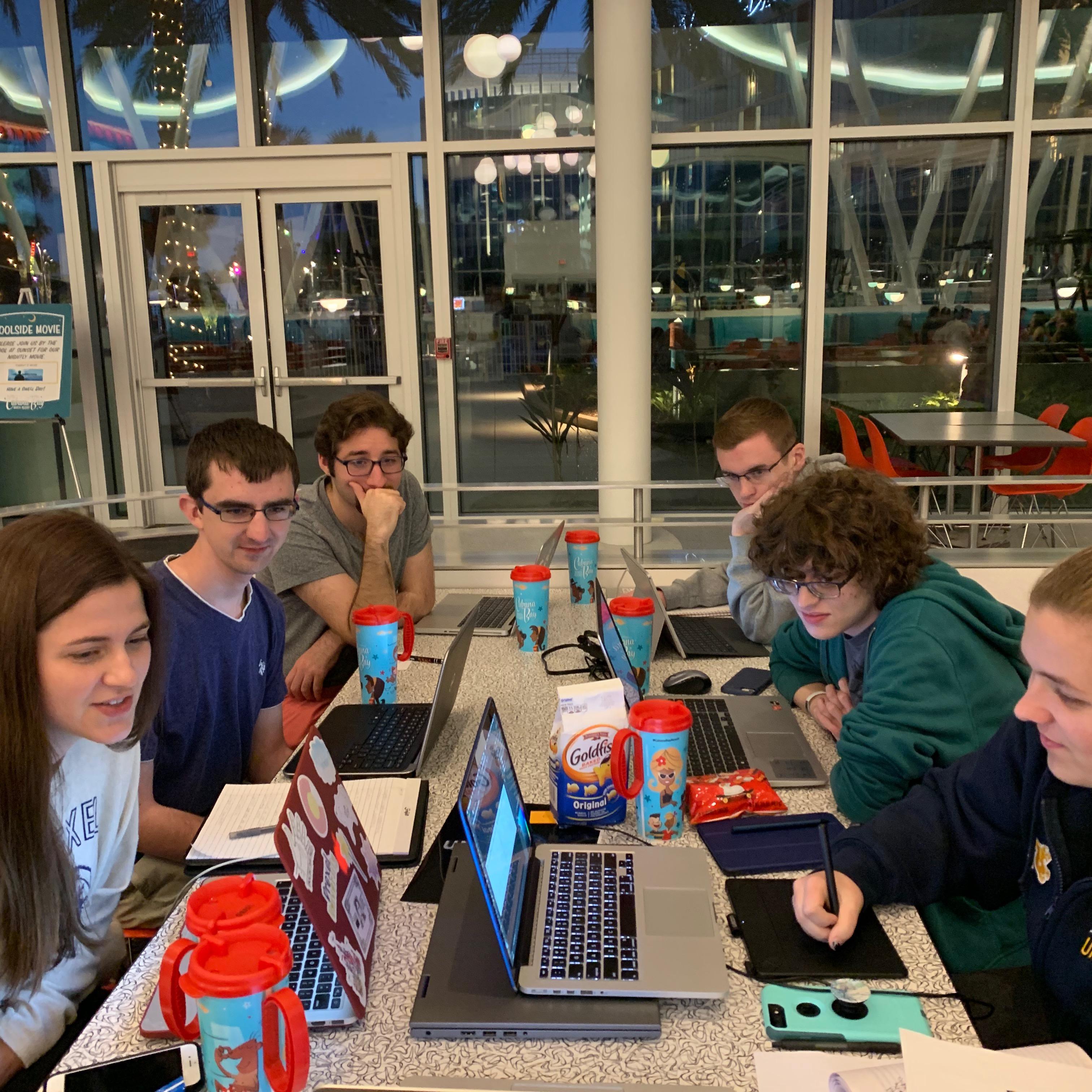 RITDC 2018 Team Working on Challenge