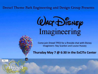 Drexel TPED Video Chats with Disney Imagineers
