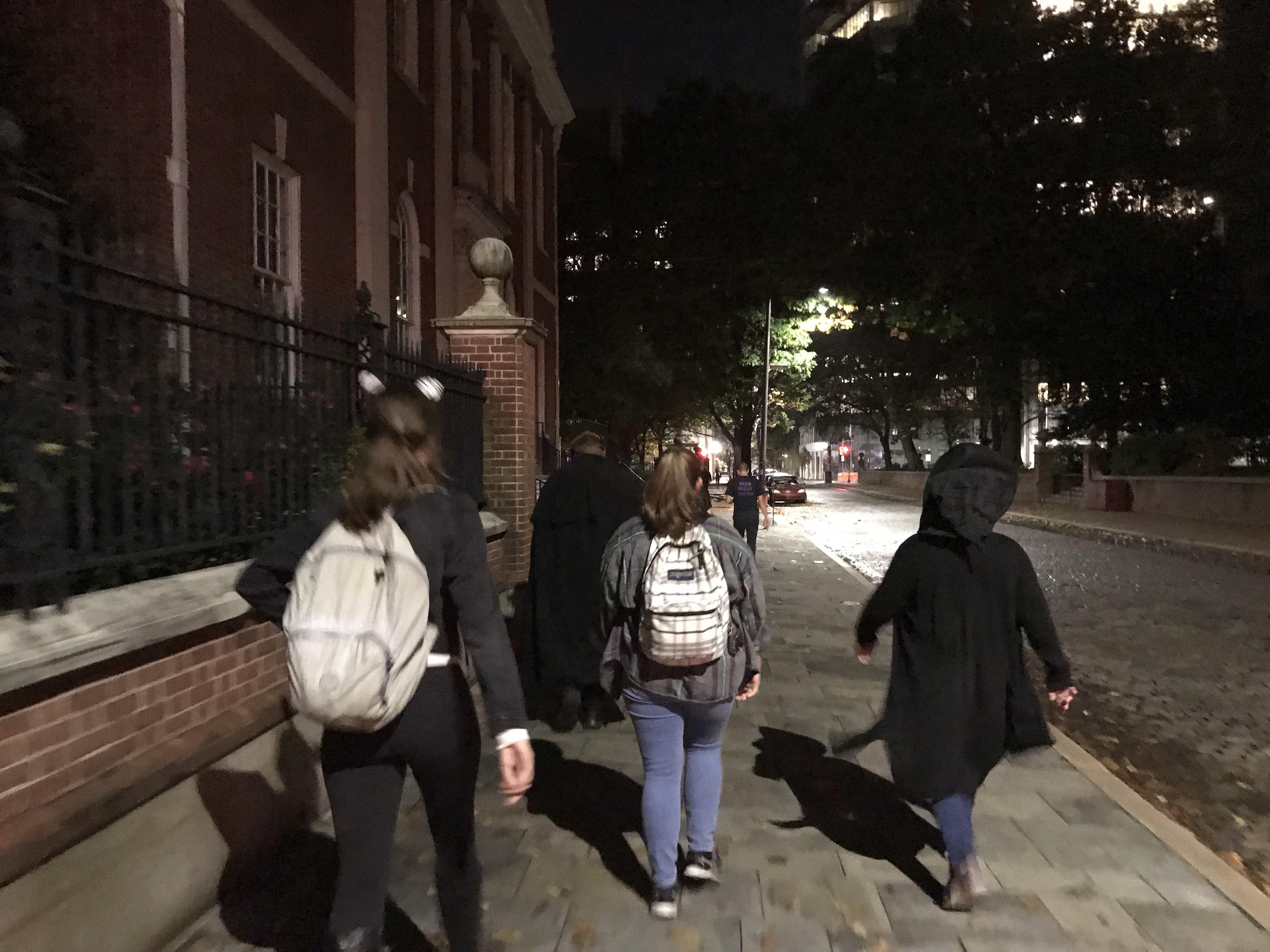 Philadelphia Ghost Tour Fall 2019