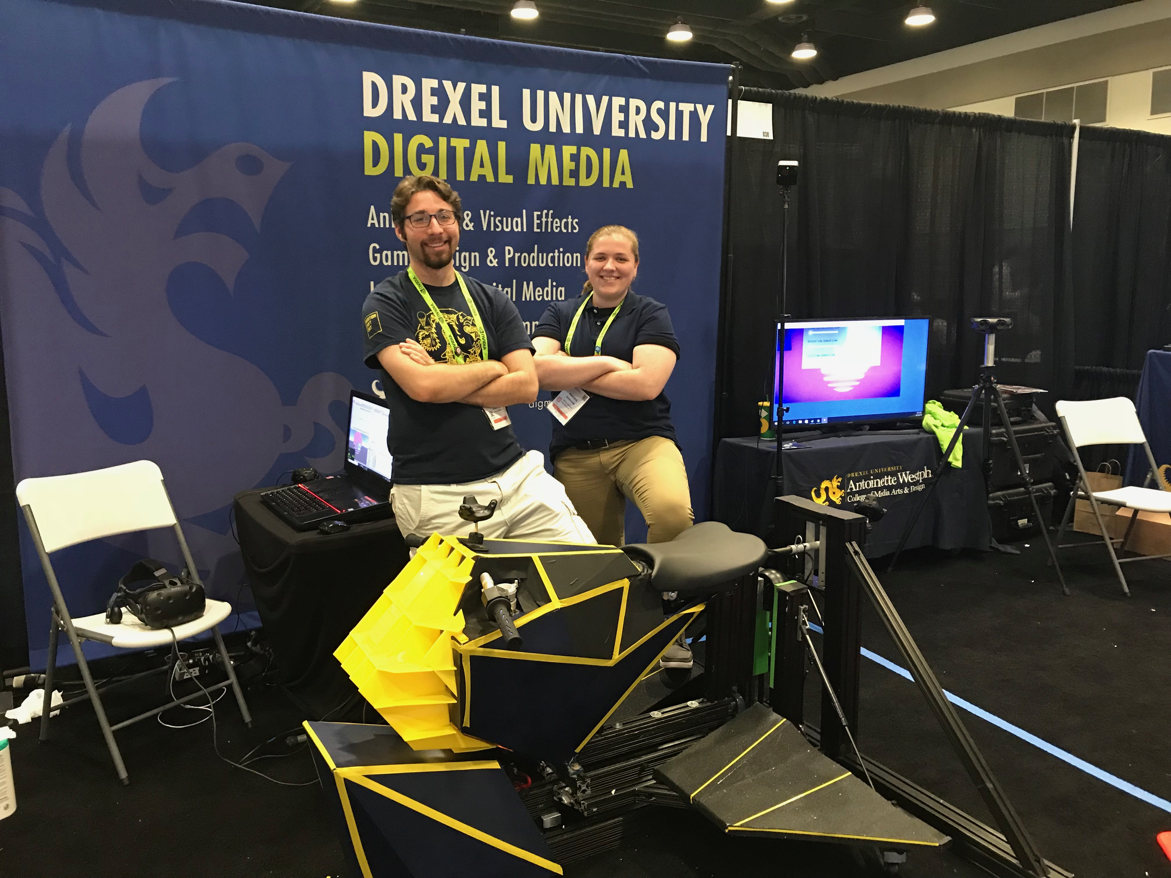 Drexel TPED at SIGGRAPH 2018