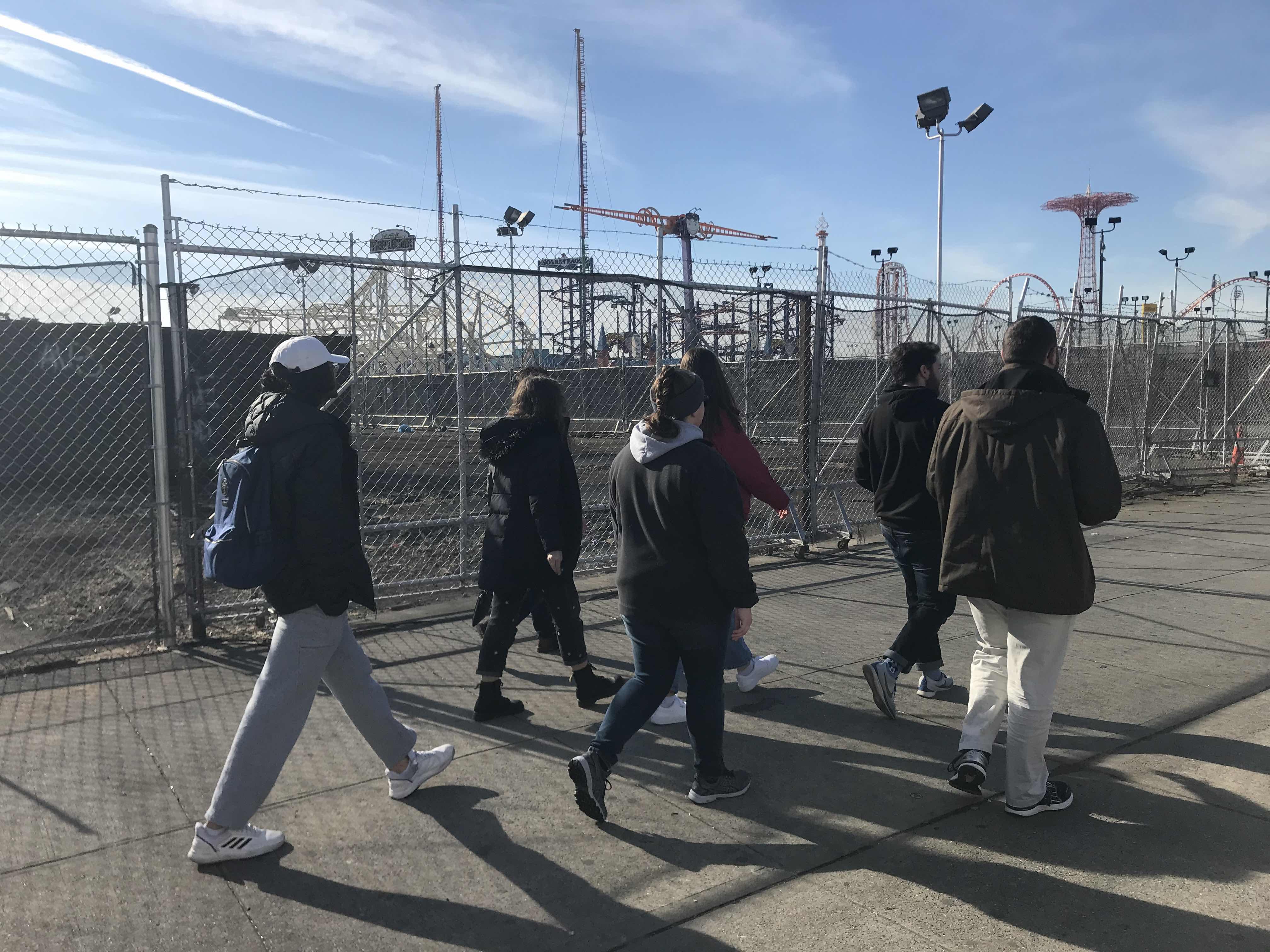 Coney Island Construction