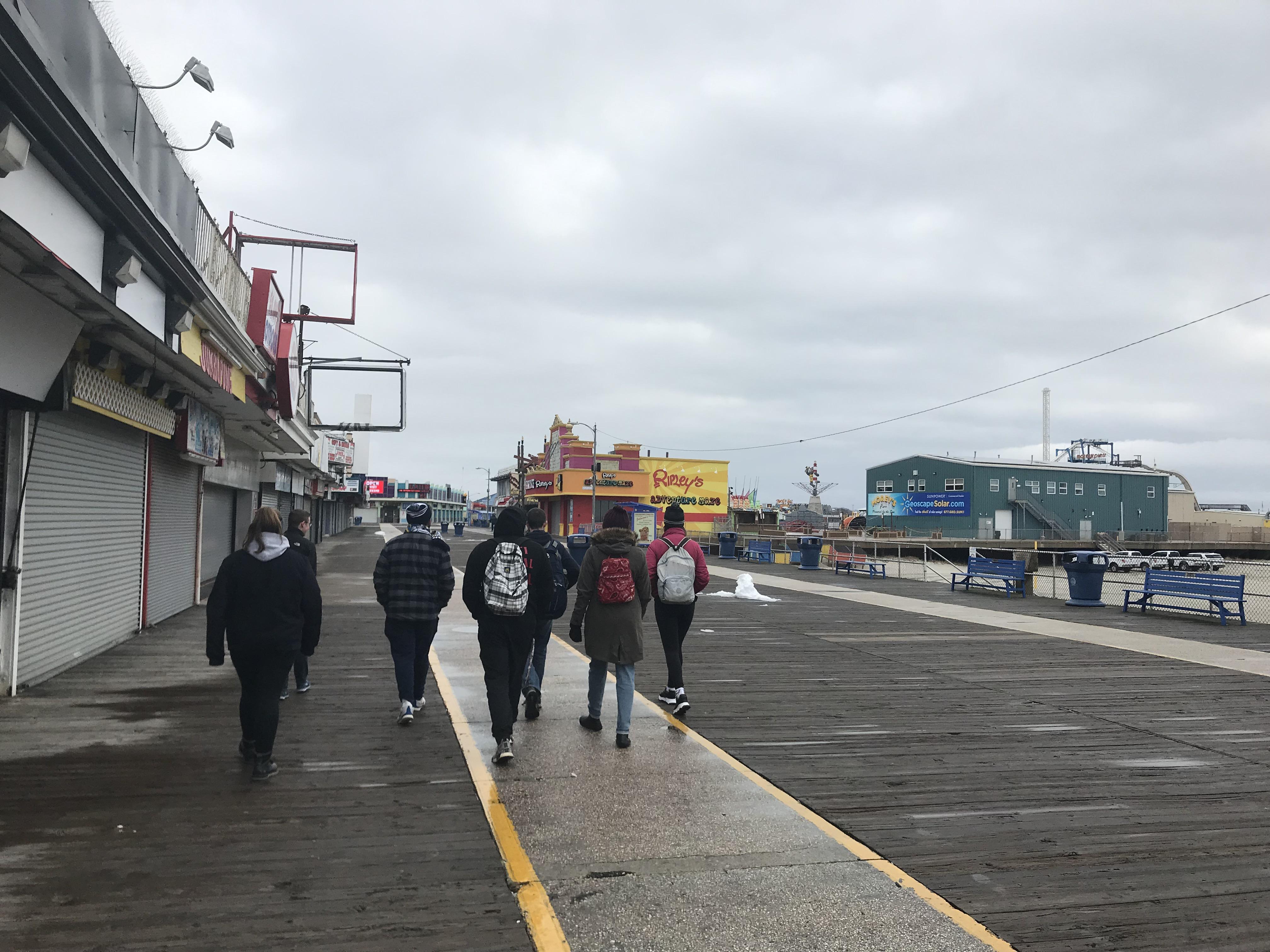 Morey's Tour Winter 2019 Boardwalk
