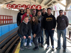 Group Shot at The Cyclone
