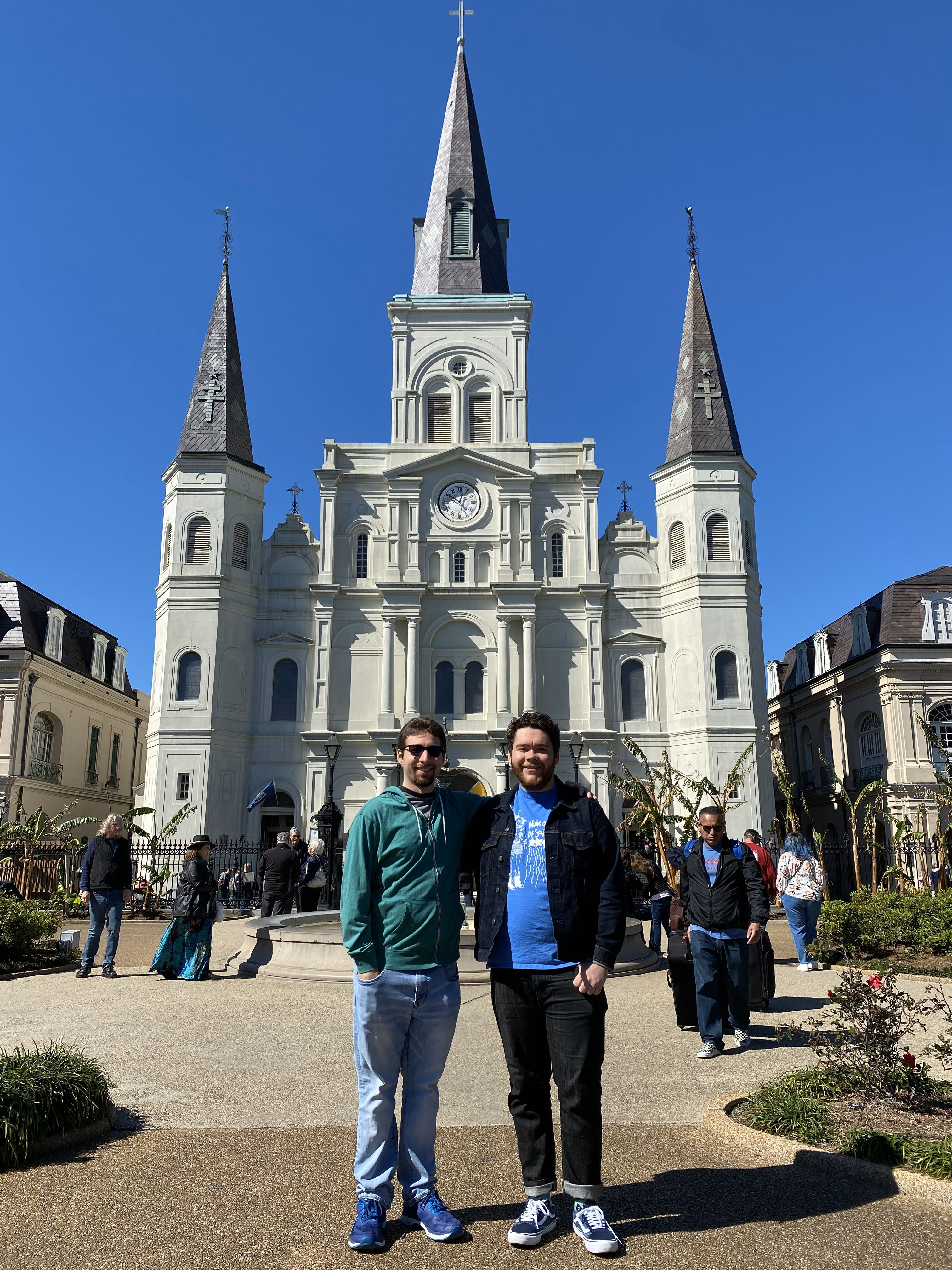 TPED at St. Louis Cathedral