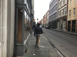 Walking the Streets of New Orleans
