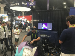 Guest Enjoying VR Bike 2.0