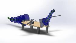Animatronic Dragon Concept Art