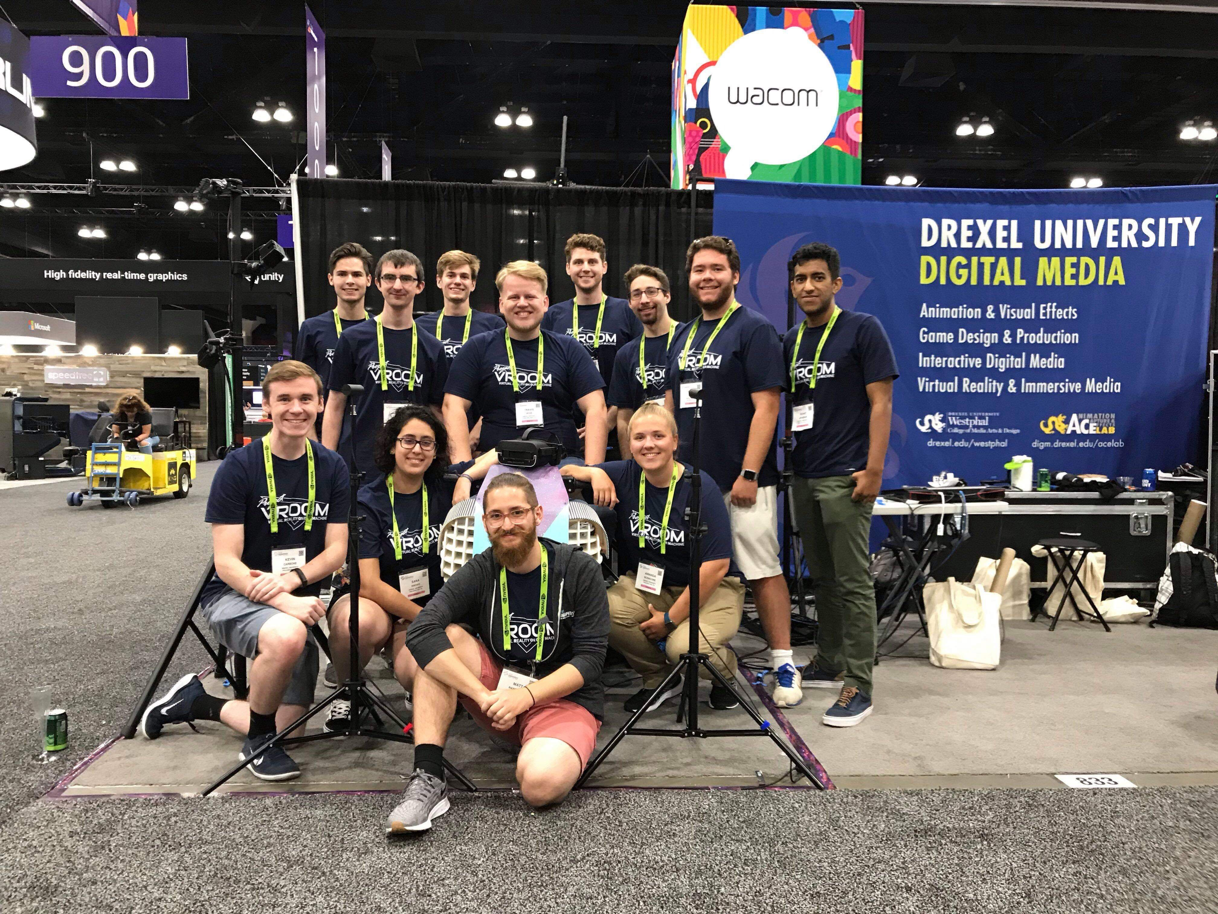Project VROOM at SIGGRAPH 2019 Booth