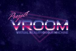 Project VROOM Logo for VR Bike 2.0
