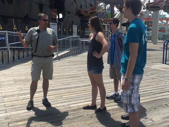 Touring Morey's Piers!
