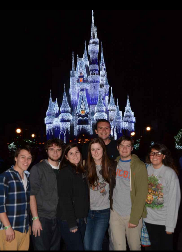 TPED at Disney Castle 2014