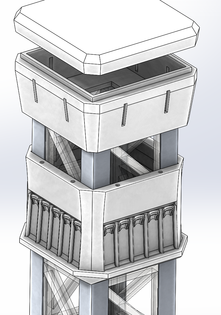 Model Drop Tower Project (WIP)