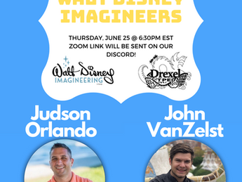 Zoom with Drexel Walt Disney Imagineers