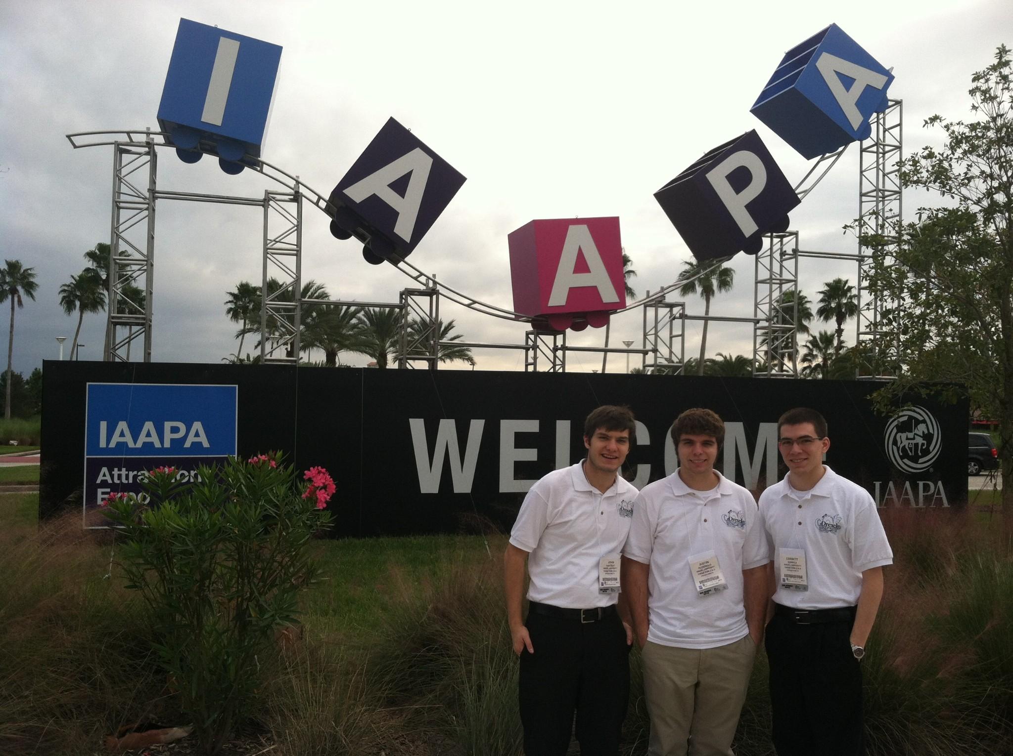 TPED at IAAPA 2012