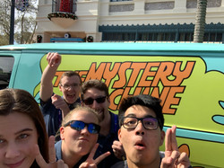 Fun at The Mystery Machine