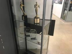 Installing Board in Trophy Case