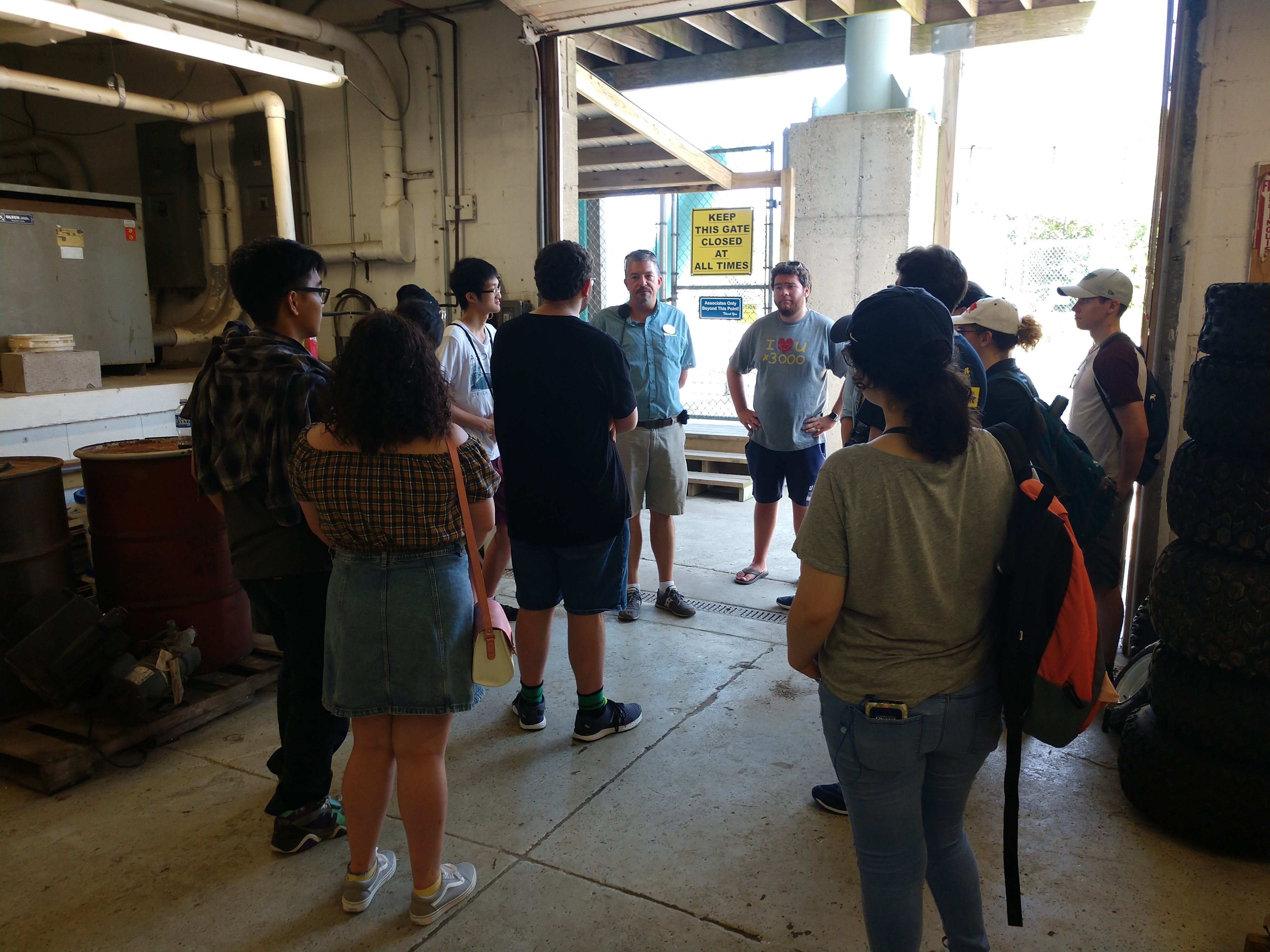 Operations Tour of Morey's