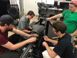 Attaching Seat to VR Bike 2.0