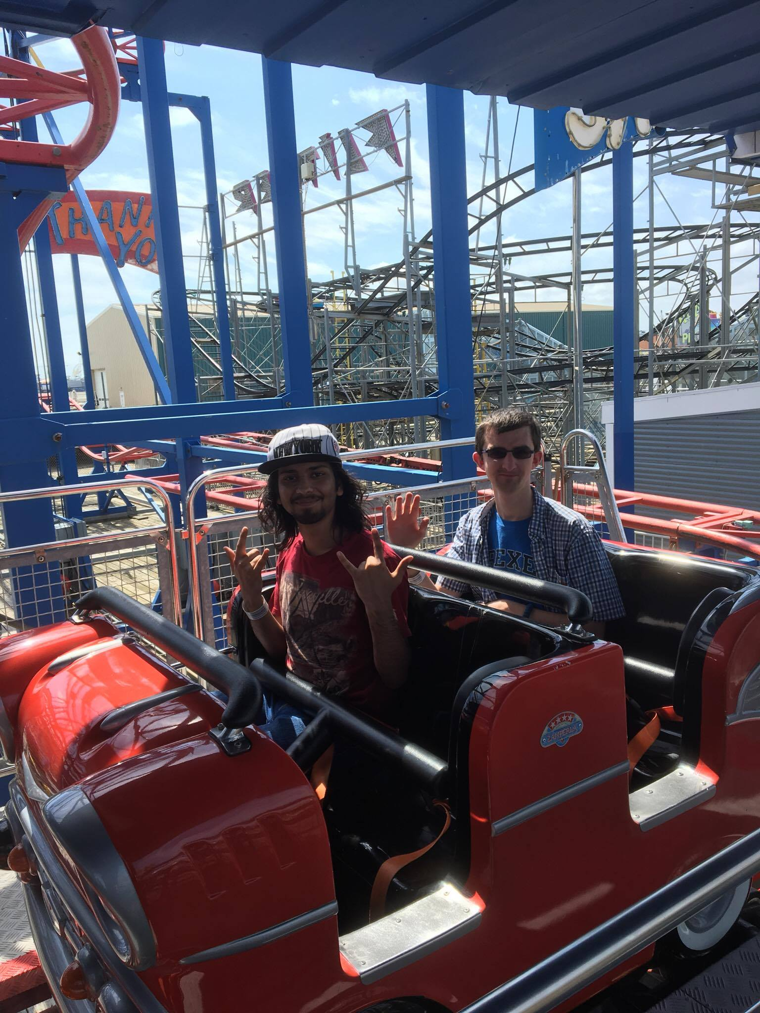 We love our rollercoasters!