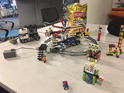 Playing with Lego Vehicles!