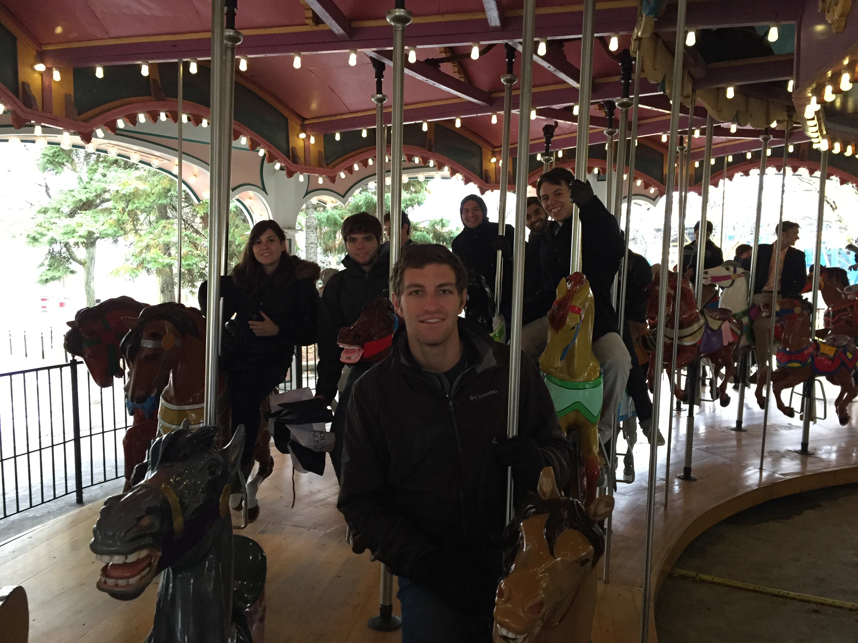 Riding a Carousel in Canada!