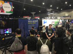 Crowd at our SIGGRAPH Booth