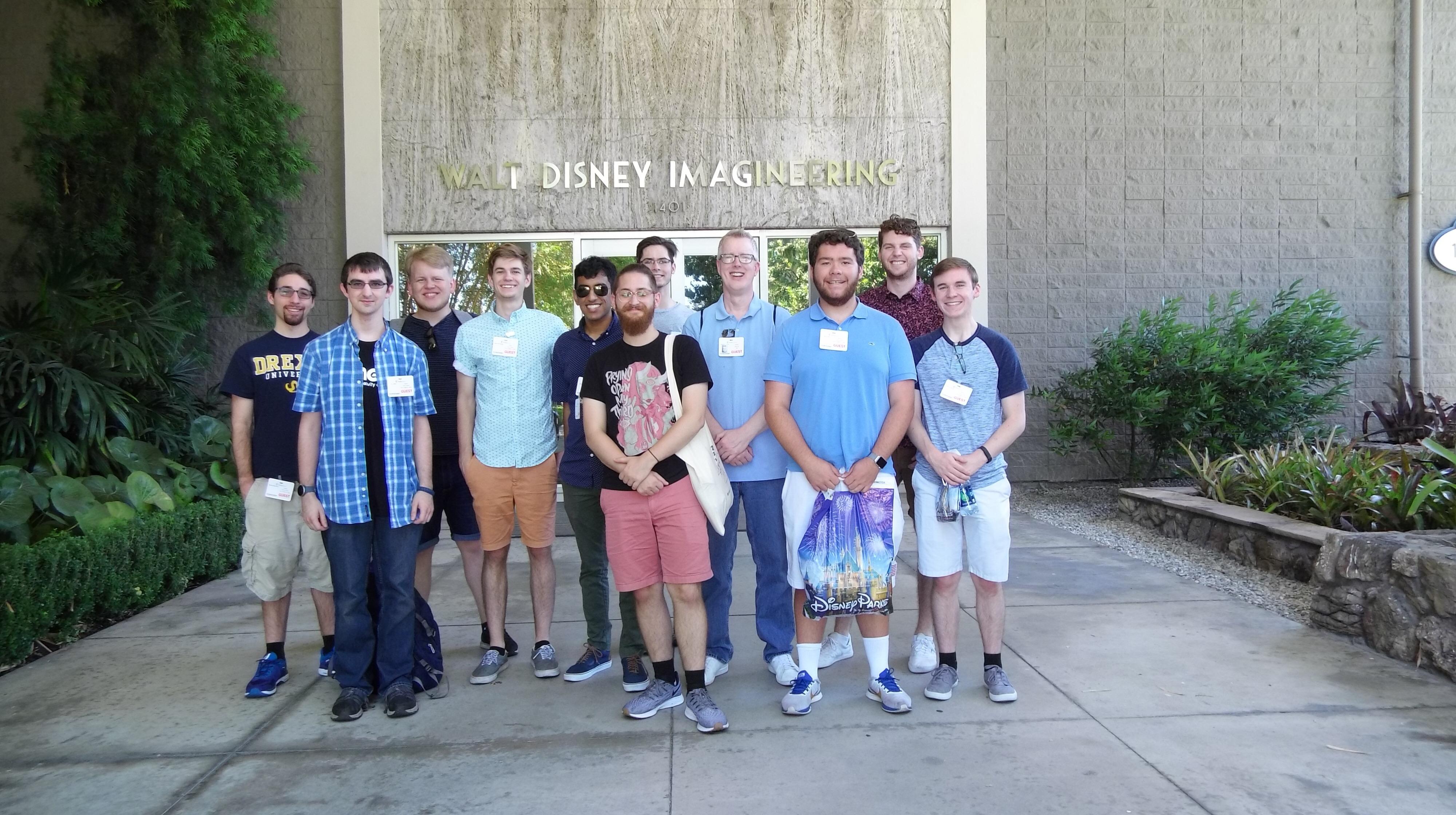 Walt Disney Imagineering Visit 8/19